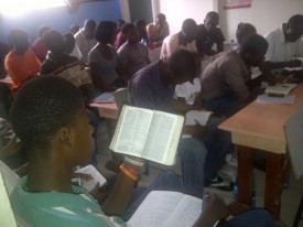Bible Seminars put on by the church.